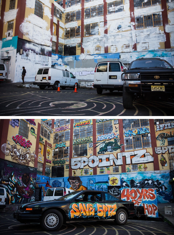그래피티를 페인트로 덮은 건물주에게 어마어마한 벌금이