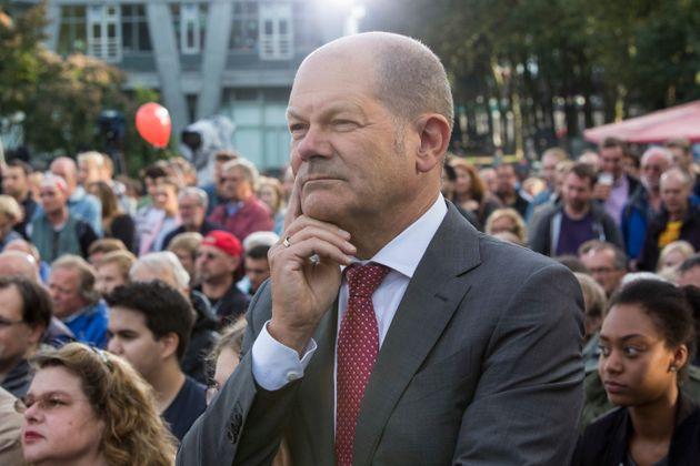 Olaf Scholz leitet kommissarisch die SPD – so wie es aussieht weiter in den Abgrund