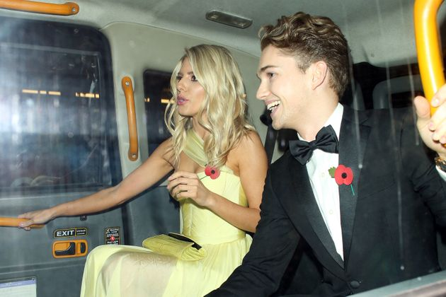 Mollie King and AJ