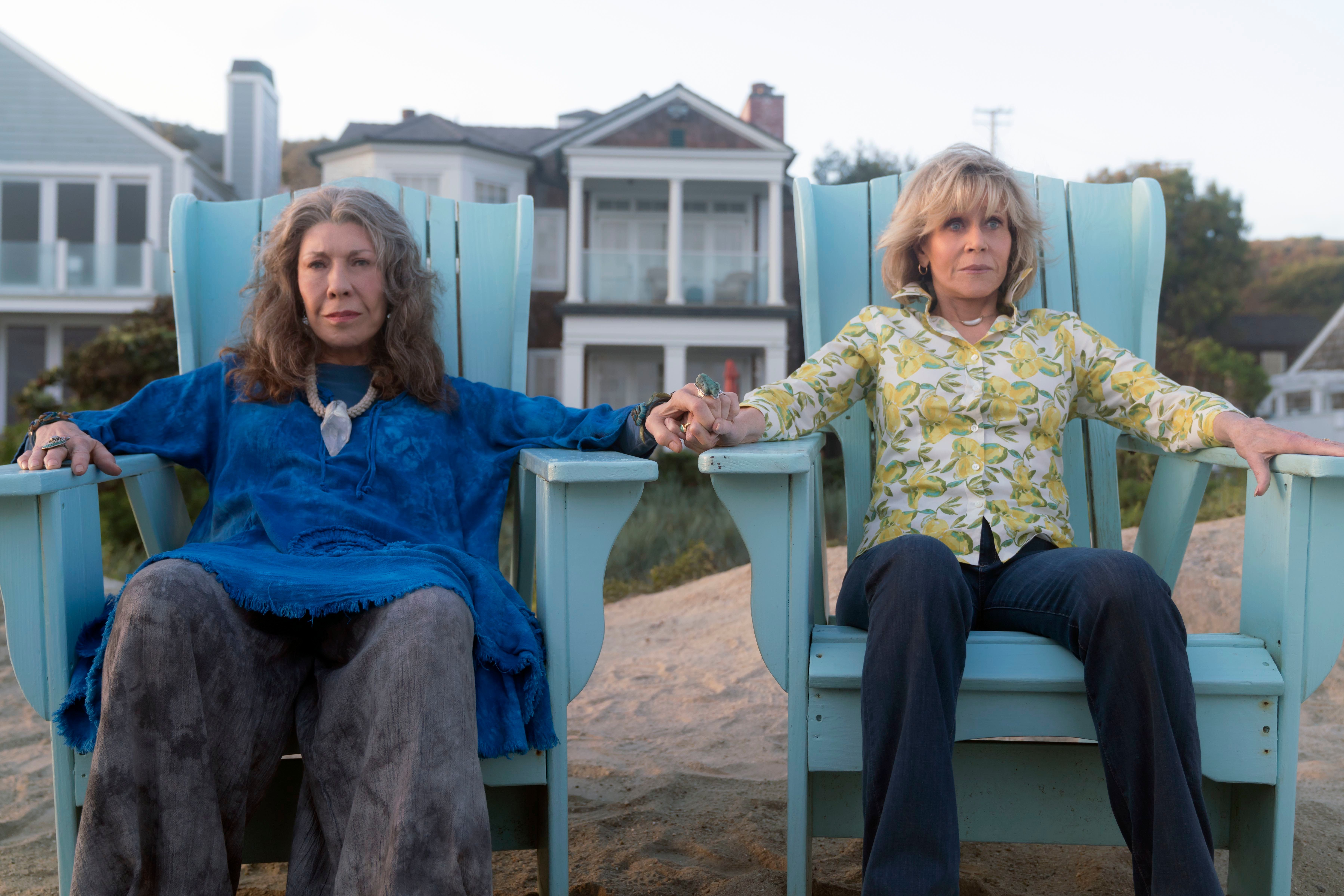 Grace and Frankie: Season Five Renewal Announced by Netflix; RuPaul to Guest