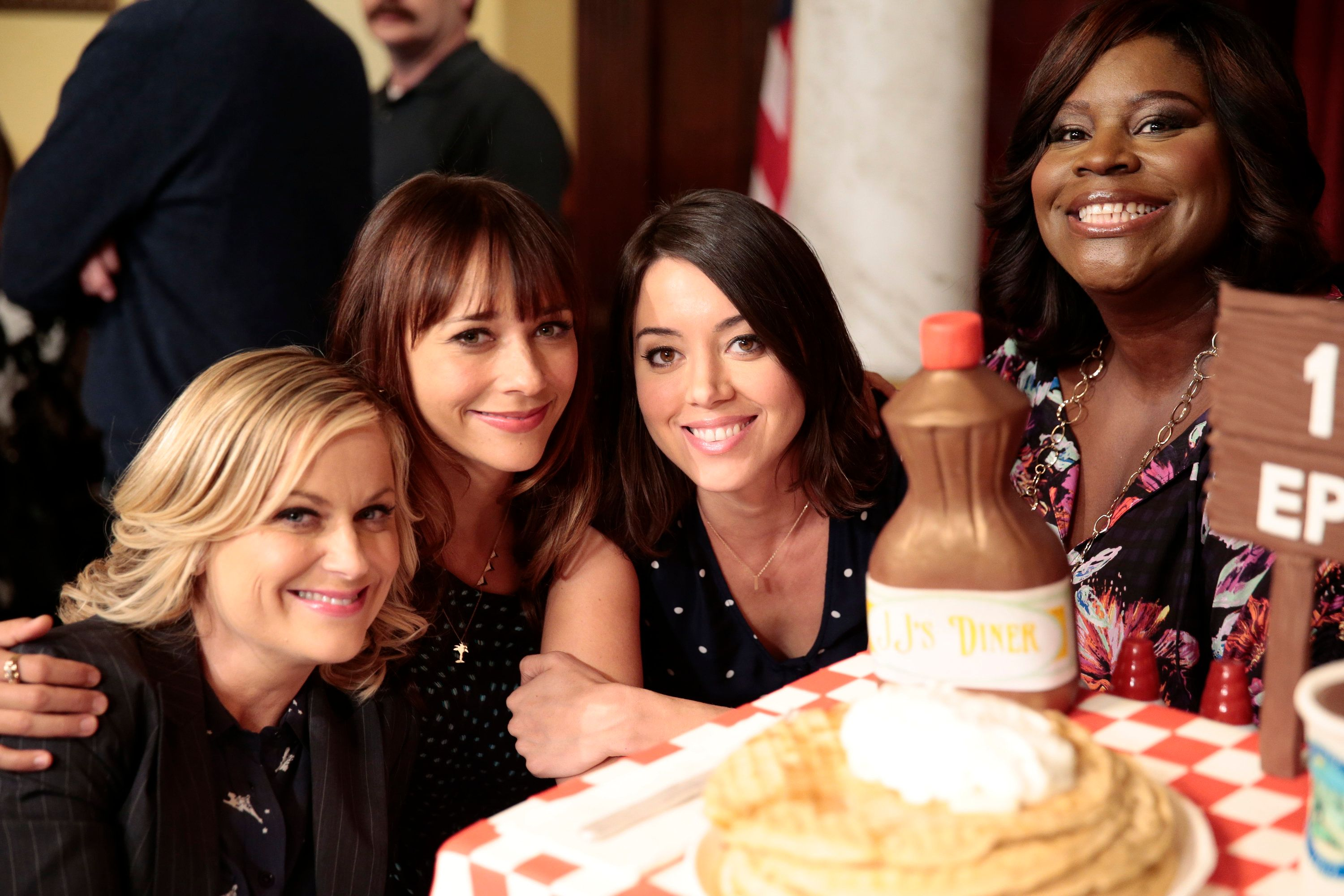 'Parks and Recreation' Women Reunite for Galentine's Day in New Photo