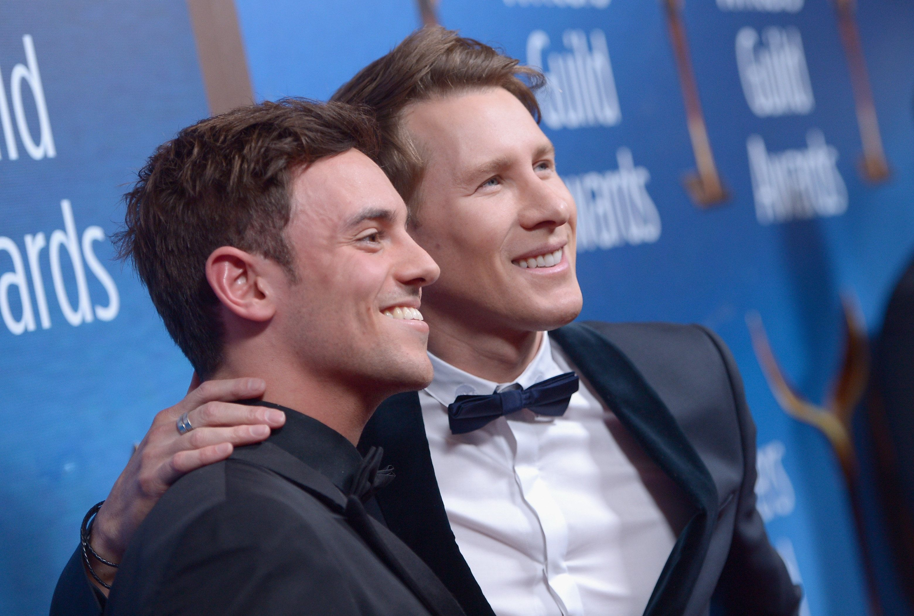 Tom Daley and husband Dustin Lance Black announce they're having a baby