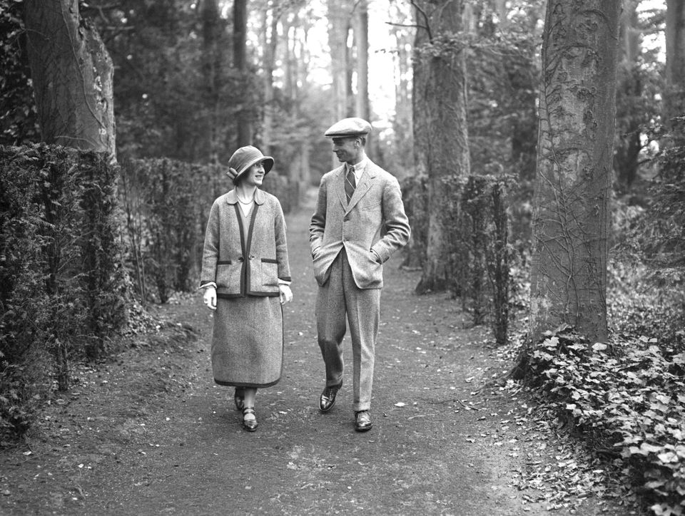 The young couplewere hosted by iconic Edwardian socialite Maggie Graville at her weekend party