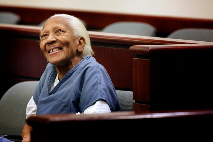 Doris Payne at an arraignment in Indio court on Nov. 5, 2013.