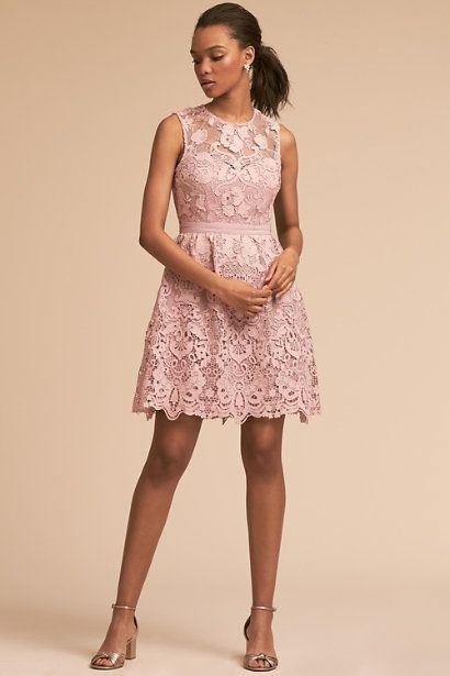 "By BHLDN at <a href=""https://www.bhldn.com/bridal-party-bridesmaid-dresses-short/rosaline-dress-mauve/productoptionids/e50bc3"