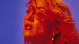 Madonna on the set of her 'Ray of Light' video. Photo by Frank Micelotta/ImageDirect. 1998*** SPECIAL RATES APPLY ***