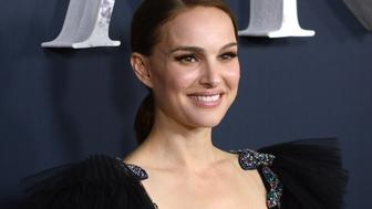 WESTWOOD, CA - FEBRUARY 13:  Actress Natalie Portman arrives for the premiere of Paramount Pictures' 'Annihilation' held at Regency Village Theatre on February 13, 2018 in Westwood, California.  (Photo by Albert L. Ortega/Getty Images)
