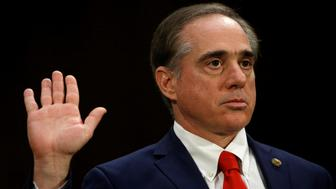 David Shulkin is sworn in to testify before a Senate Veterans Affairs Committee confirmation hearing on his nomination to be Veterans Affairs secretary on Capitol Hill in Washington, U.S., February 1, 2017.  REUTERS/Kevin Lamarque