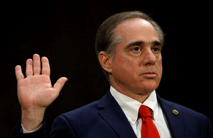 David Shulkin is sworn in to testify before a Senate Veterans Affairs Committee confirmation hearing on his nomination to be