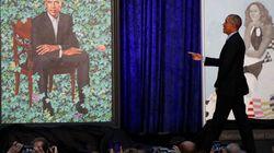 Kurioses Detail im Porträt: Was verbirgt sich unter Barack Obamas