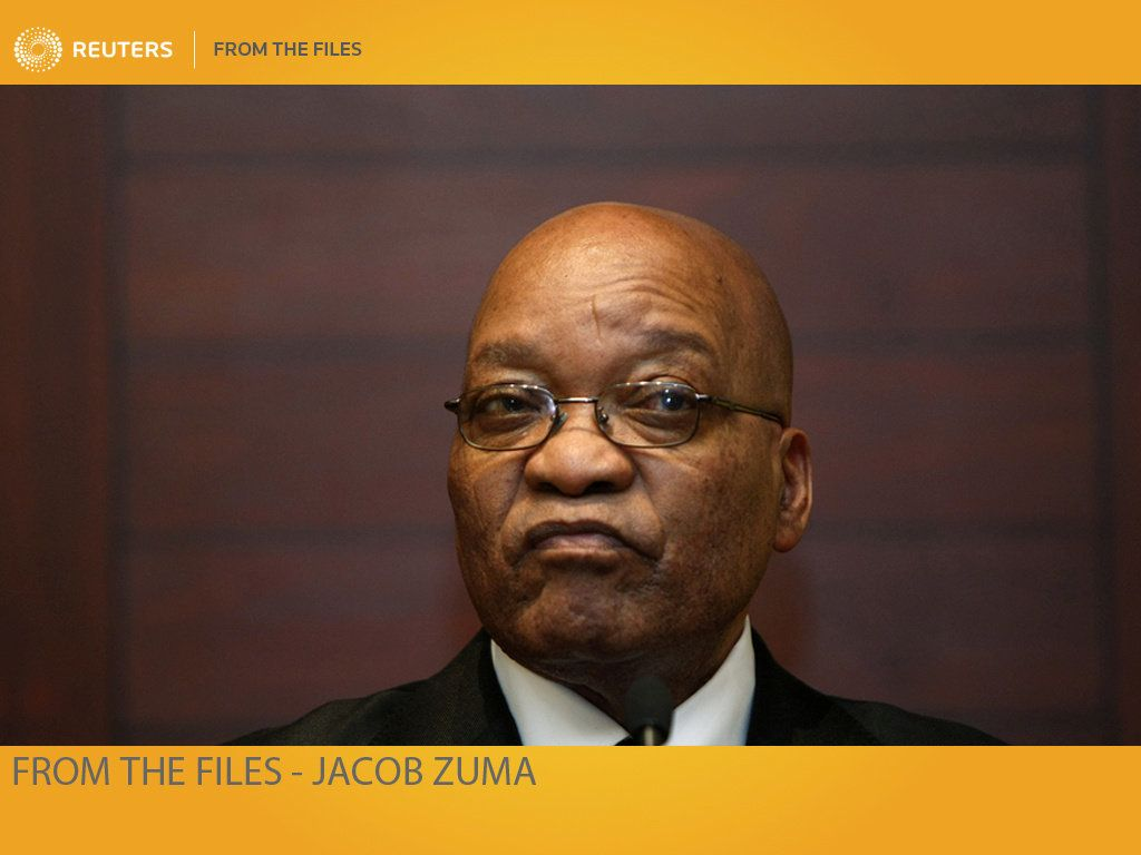 ATTENTION EDITORS - 30 ARCHIVE IMAGES FROM SOUTH AFRICAN PRESIDENT JACOB ZUMA'S CAREER WILL FOLLOW THIS ADVISORY        SEARCH ZUMA FILE FOR ALL IMAGES              TEMPLATE OUT