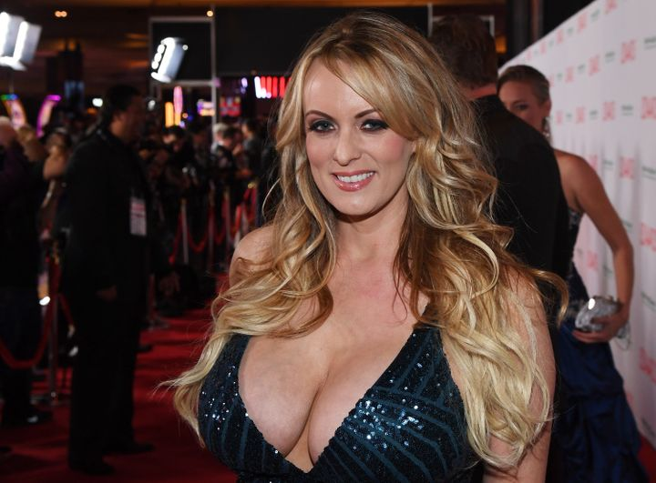 Adult film actress/director Stormy Daniels.