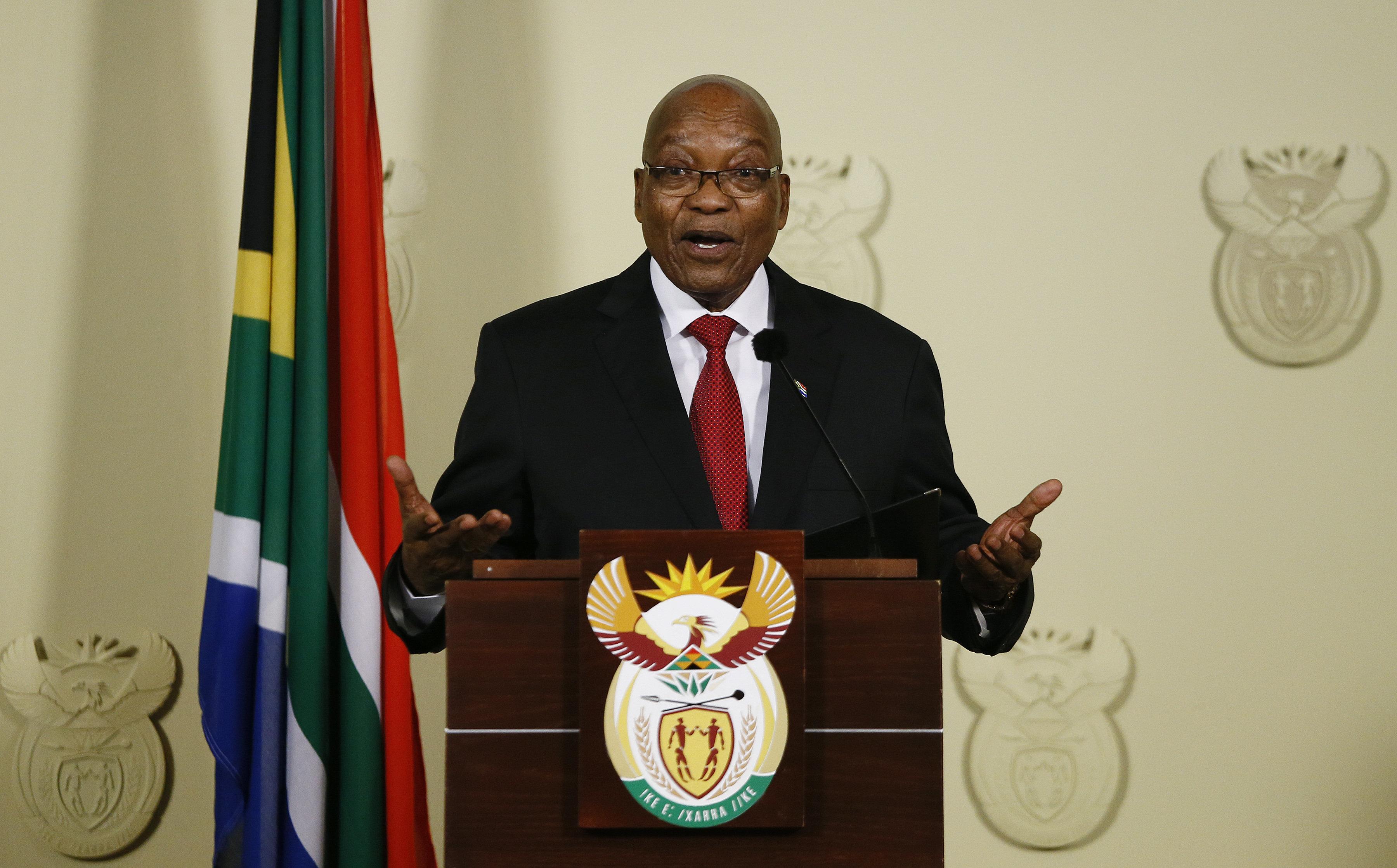 Νότια Αφρική: Παραιτήθηκε ο πρόεδρος Τζέικομπ