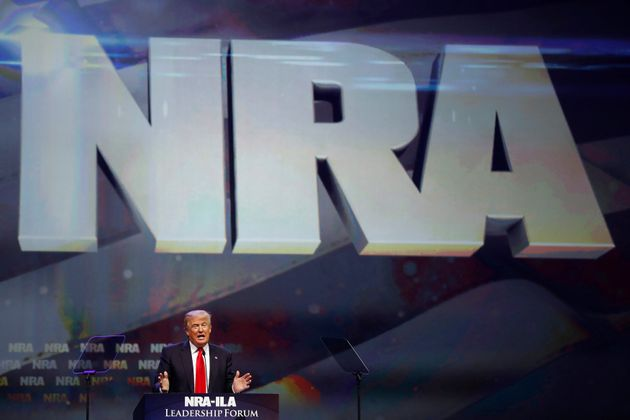 The National Rifle Association spent tens of millions of dollars helping to elect Donald