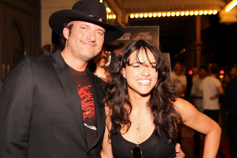 FilmmakerRobert Rodriguez and actress Michelle Rodriguez