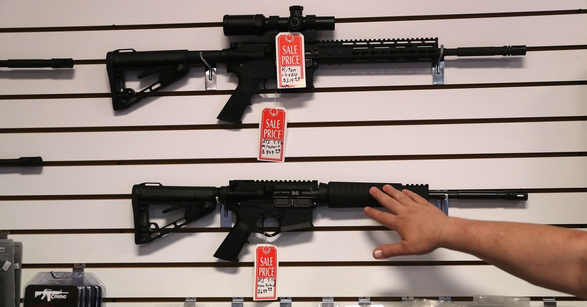 Heres what you need to know about the weapons of war used in mass heres what you need to know about the weapons of war used in mass shootings huffpost thecheapjerseys Choice Image