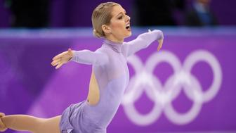 Figure Skating – Pyeongchang 2018 Winter Olympics – Pair Skating free skating competition final – Gangneung Ice Arena - Gangneung, South Korea – February 15, 2018 - Alexa Scimeca Knierim and Chris Knierim of the U.S. compete. REUTERS/Damir Sagolj