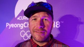 Former Olympic gold medal winner Alpine skier Bode Miller smiles during an interview in Innsbruck, Austria,  January 3, 2018. REUTERS/Philip O'Connor