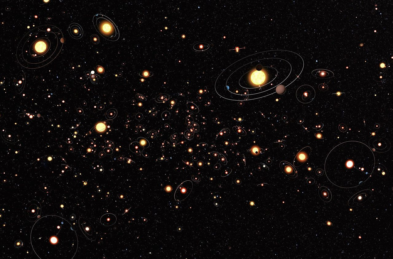 Get ready for some 'galactic context' as nearly 100 new exoplanets discovered