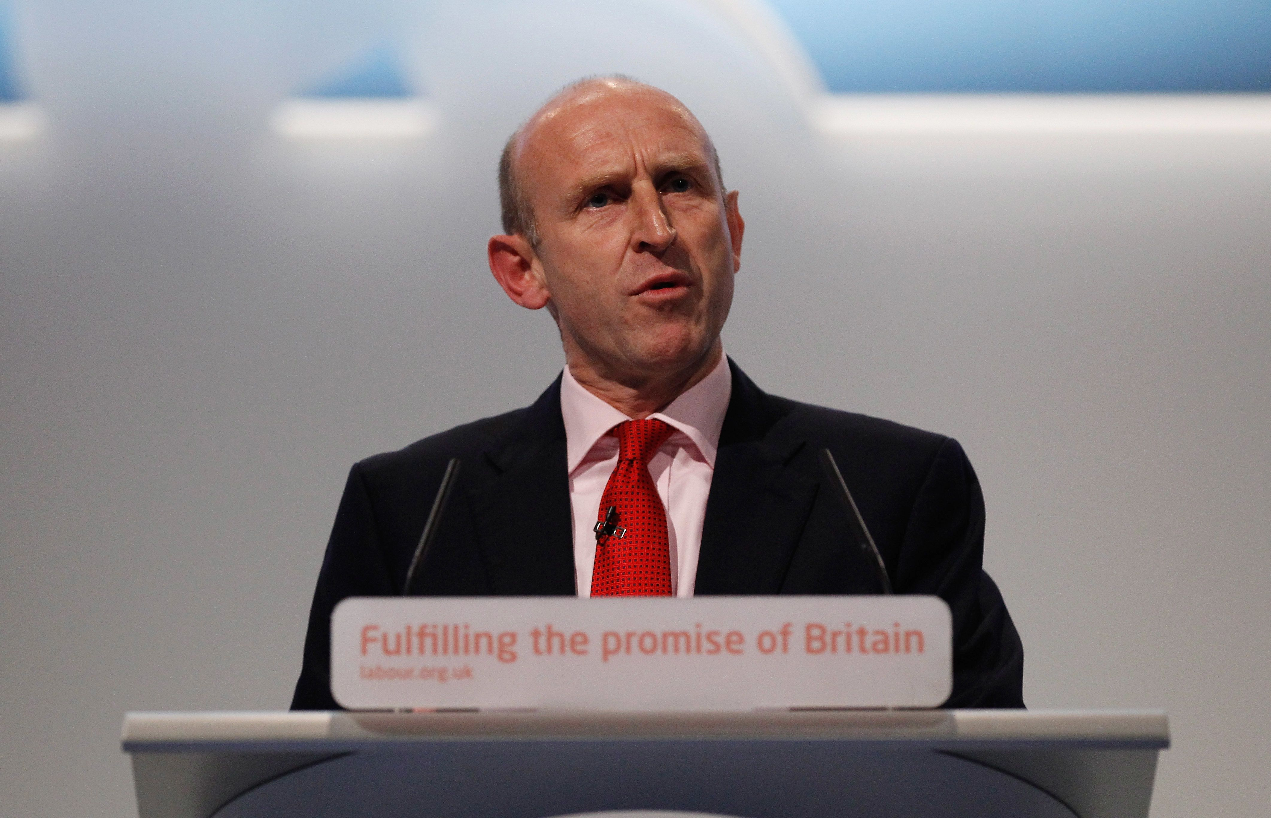 Christopher Furlong via Getty Images                   Labour's John Healey has said the report is a'wake up call for the government