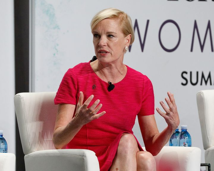 Cecile Richards speaks during the 2017 Forbes Women's Summit at Spring Studios on June 13, 2017, in New York City.