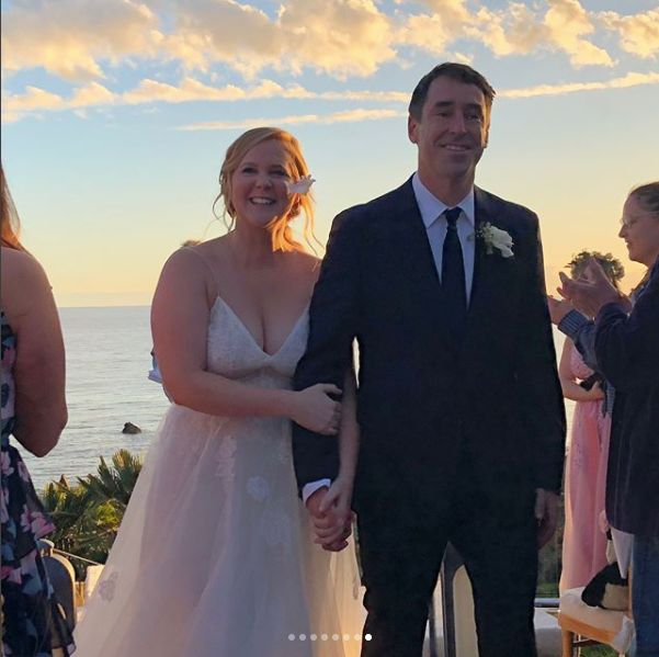 Amy Schumer's Stunning Wedding Dress Is At Nordstrom