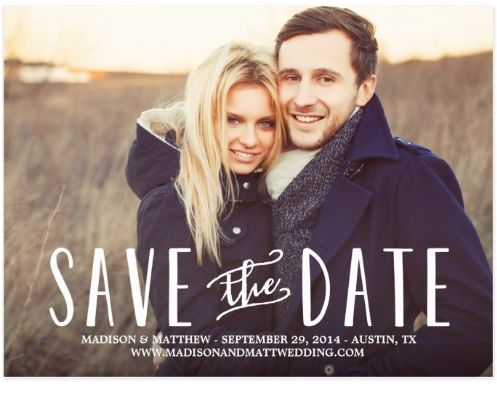 14 Creative Places To Get Your Save-The-Dates Made HuffPost Life
