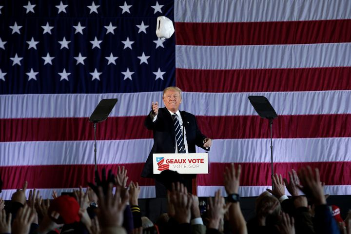 """President Donald Trump expressed """"what any reasonable observer could view as general anti-Muslim bias,"""" the U.S."""