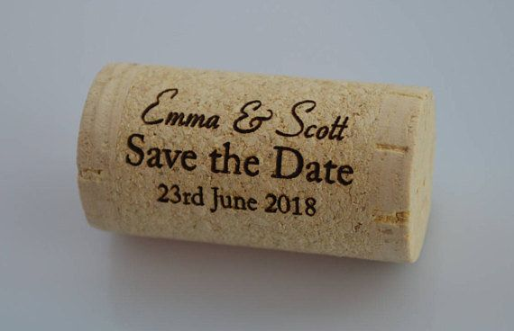 14 creative places to get your save the dates made huffpost switch up the typical save the date with a cork from a href junglespirit Choice Image