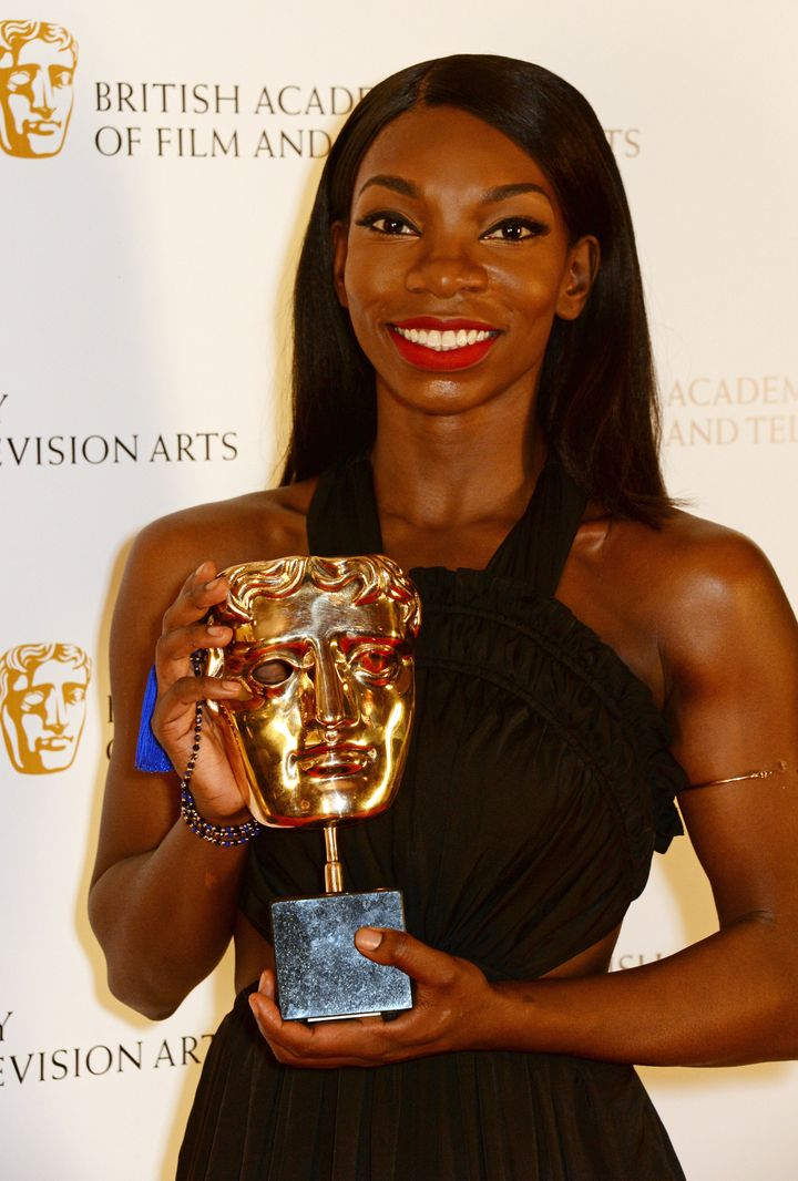 "Michaela Coel portrays a young black woman who's a virgin struggling to make sense of relationships and sexuality in ""Chewing"
