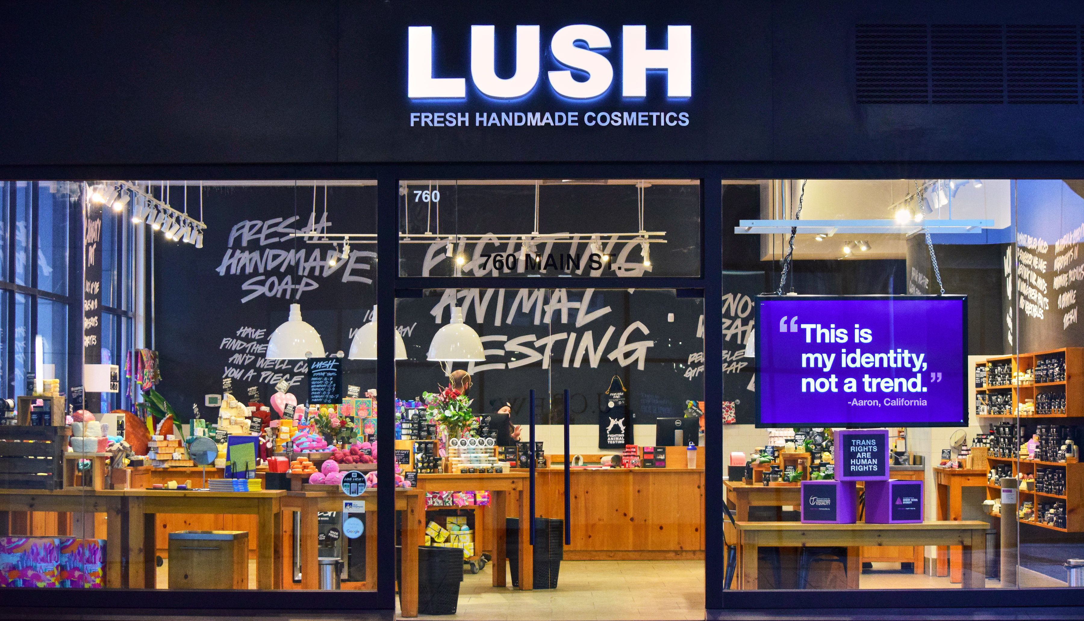 On Feb. 15, Lush Cosmetics kicked off its #TransRightsAreHumanRights campaign.
