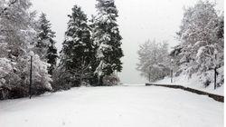 H κακοκαιρία πλήττει τη χώρα. Χιόνια στο Δομοκό και την Ήπειρο, κρύο και βροχές στις υπόλοιπες