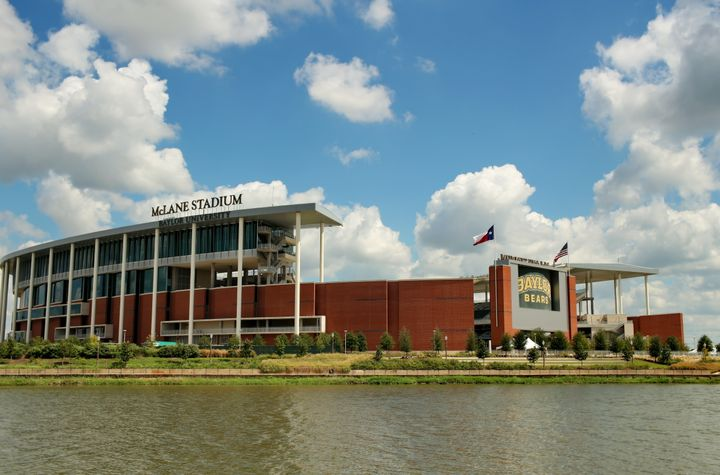 Baylor University's McLane Stadiumin Waco, Texas.