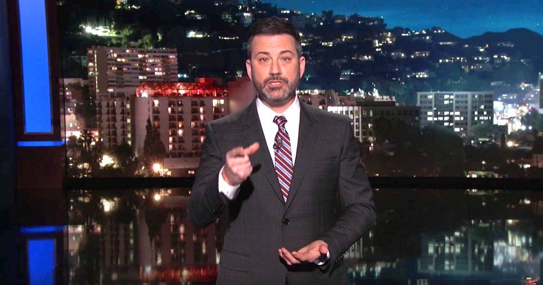 Jimmy Kimmel Shreds Trump For Doing 'Worse Than Nothing' To Stop Gun Violence