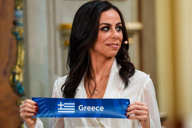 29.01.2018: H πορτογαλίδα παρουσιάστρια...