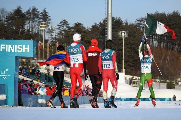Mexican Cross-Country Skier Finishes Last, Gets Tearjerking Hero's