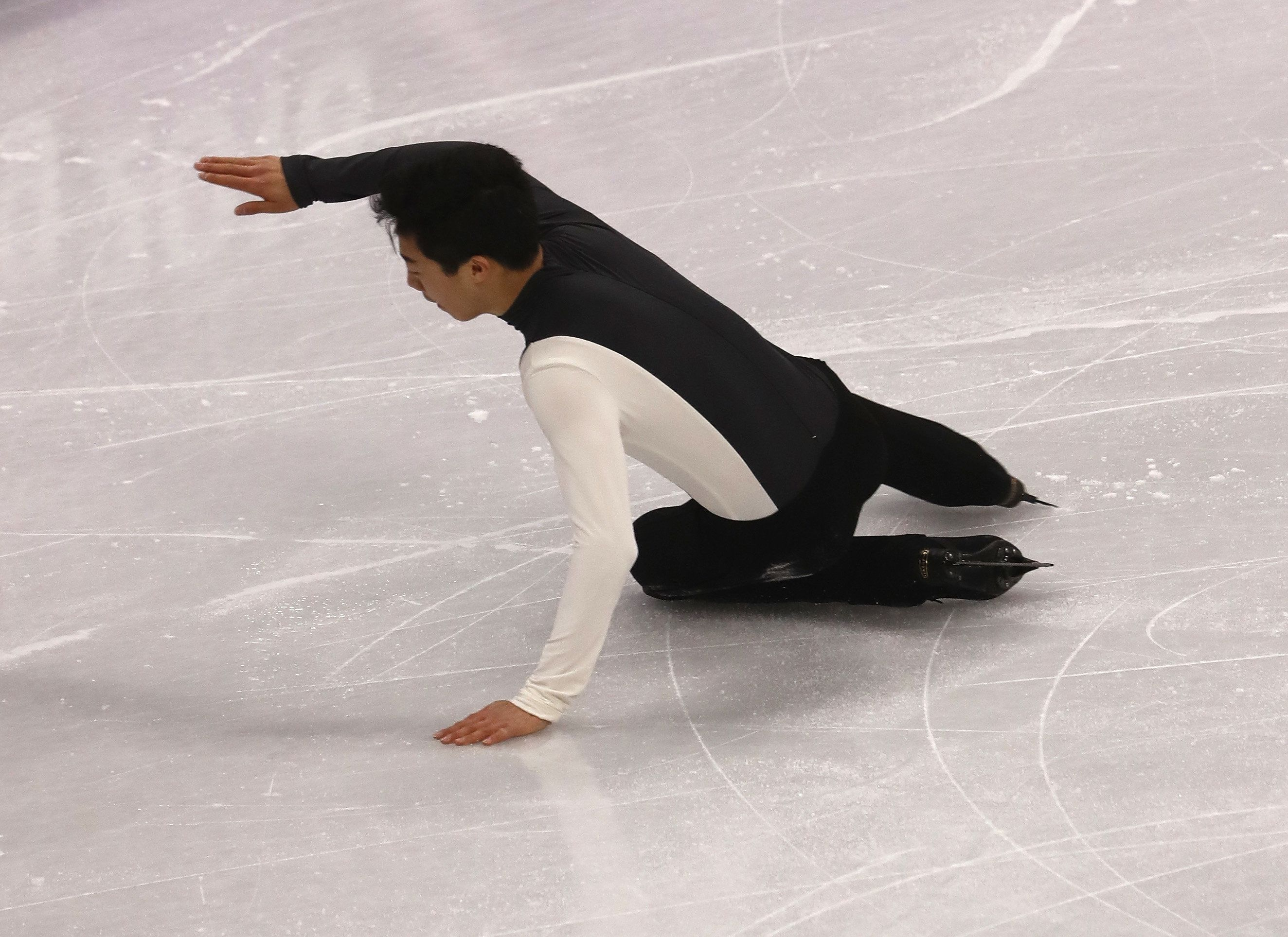 Nathan Chen bombs in his men's short program at 2018 Winter Olympics