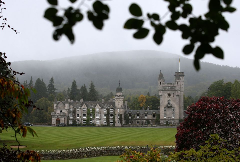 The couple spent the first part of their break at Balmoral in the