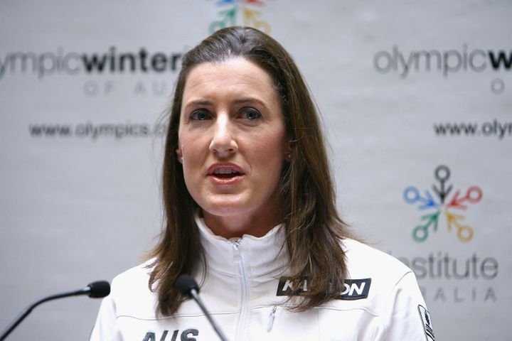 Australian TV commentator Jacqui Cooper defended remarks she made at the Winter Olympics in Pyeongchang, South Korea.