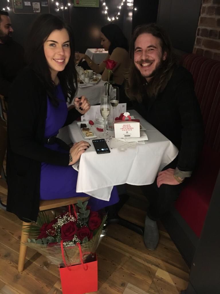 This Guy Proposed In Greggs On Valentine's