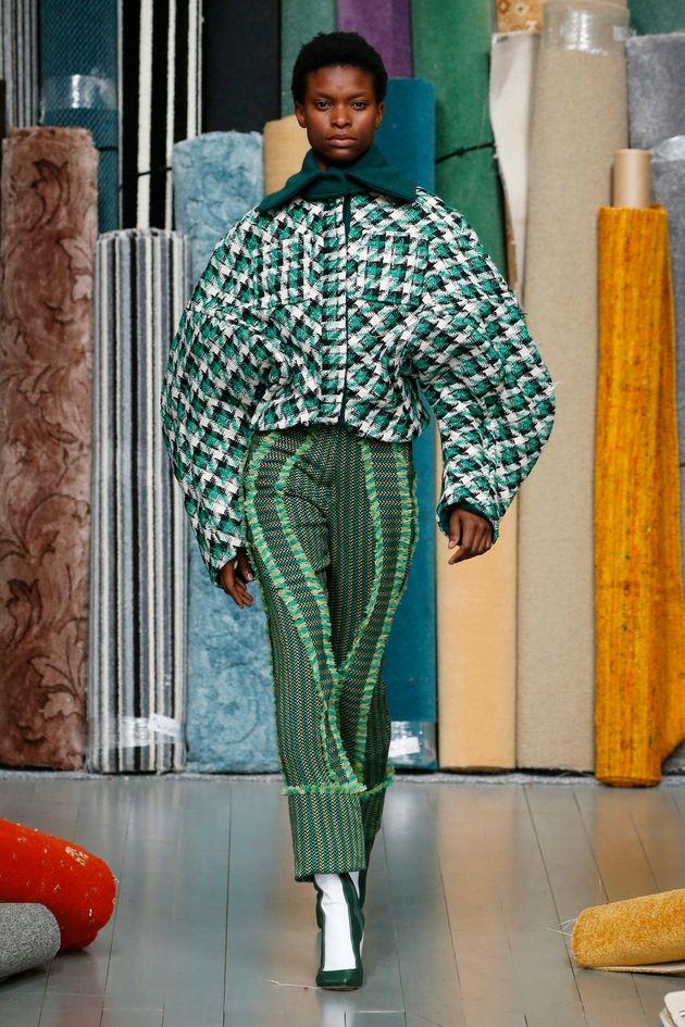 London Fashion Week Looks We Love: Richard Malone Reinventing The