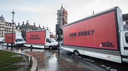 We Put Three Billboards Outside Grenfell To Show We'll Not Stop Fighting For