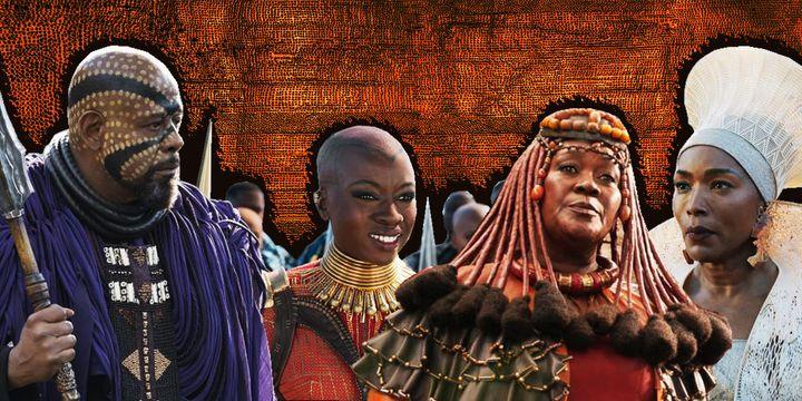 The many shades of Wakanda.