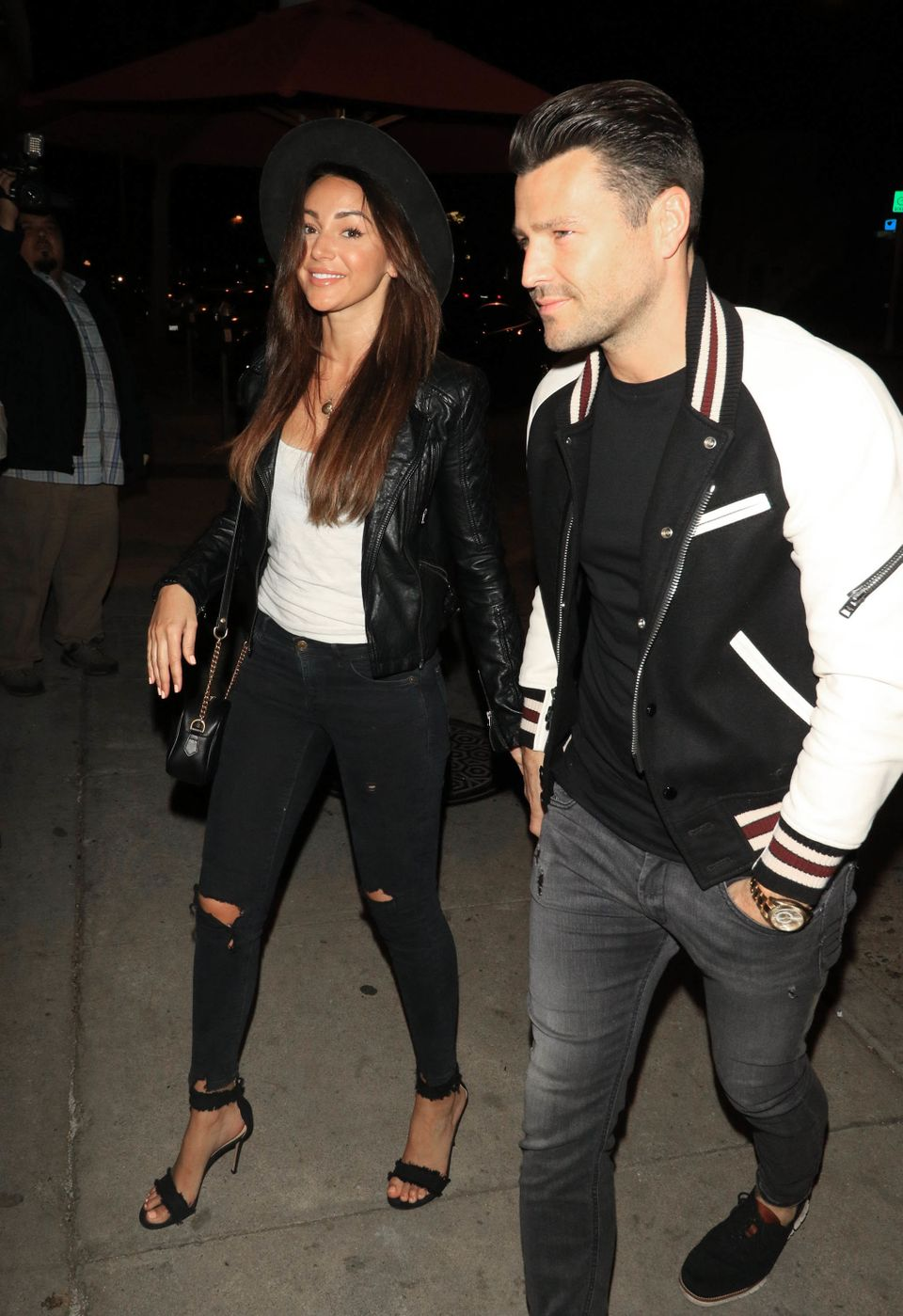 Mark with wife Michelle
