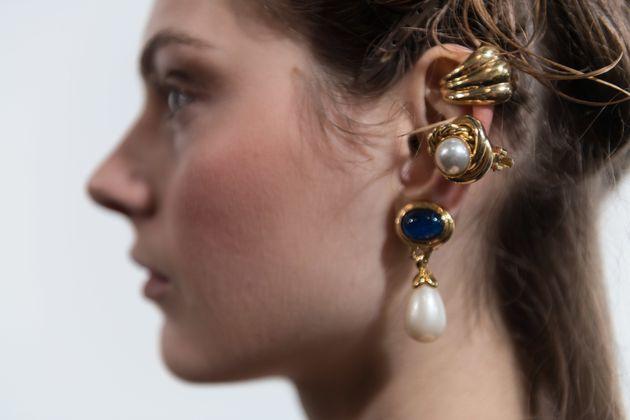 London Fashion Week Looks We Love: Layered Chunky