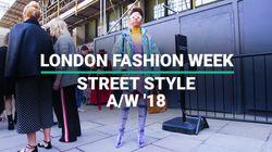 London Fashion Week: Street Style A/W