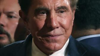 WASHINGTON, DC - JULY 26:  Steve Wynn, CEO of Wynn Resorts, attends a news conference held by U.S. President Donald Trump in the East Room of the White House July 26, 2017 in Washington, DC. The president was touting a decision by Apple supplier Foxconn to invest $10 billion to build a factory in Wisconsin that produces LCD panels. Foxconn said the project would create 3,000 jobs, with the 'potential' to generate 13,000 new jobs, according to published reports.  (Photo by Mark Wilson/Getty Images)
