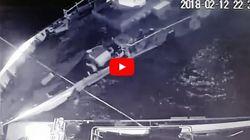 Βίντεο ντοκουμέντο: Ο εμβολισμός του πλοίου Γαύδος από την τουρκική ακταιωρό στα