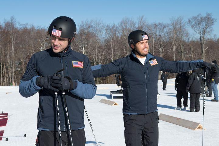 """Ben Higgins and Luke Pell on """"The Bachelor Winter Games."""""""