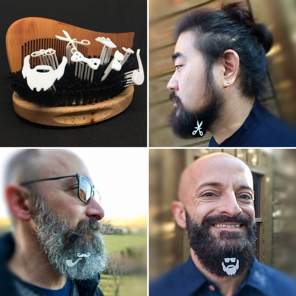Beards used to be a way for a guy to stand out in a crowd, but that's hard to do when everyone has one. The solution&nb